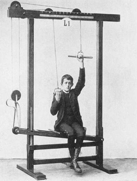 Eski zamanlardaki egzersiz aletleri nasıl görünüyordu