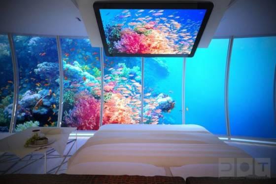 Dubai'de İlginç Sualtı Oteli