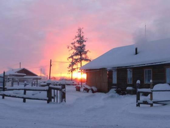 Oymyakon: dünyanın en soğuk yerleşim yeri