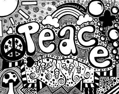 Karalamalar karakterinizi ele veriyor - Dessin peace and love ...