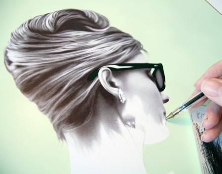 Tükenmez kalemle gerçekçi çizimler