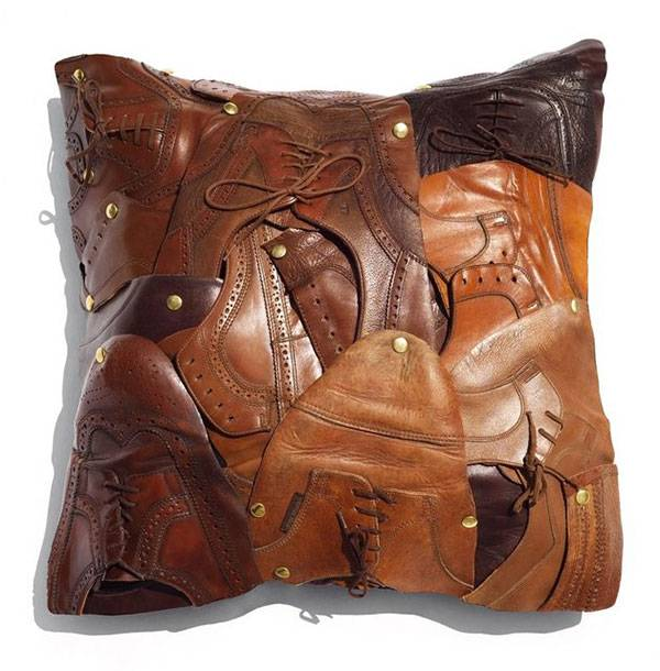 Изделия из старых кожаных сумок