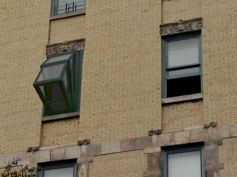 """Необычное """"окно в небо"""" для тех, кто живет в квартире без ба."""